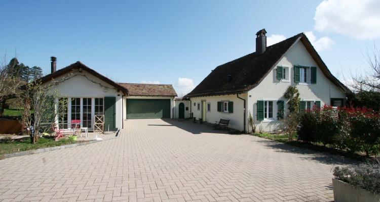 villa + appartement indépendant, dans son écrin de verdure avec calme, soleil et vue. image 1