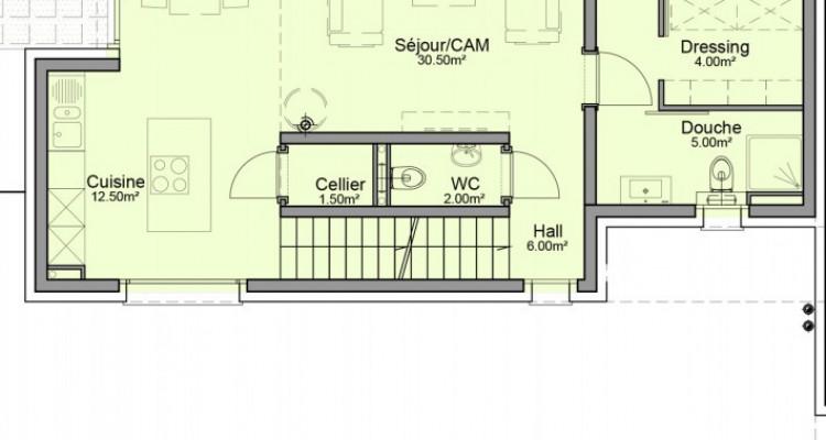 FOTI IMMO - Villa jumelle de 5,5 pièces avec terrasse. image 6
