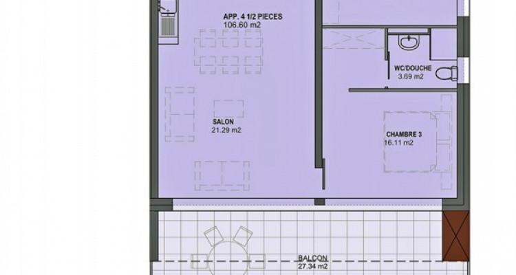 FOTI IMMO - Appartement MINERGIE de 4,5 pièces avec balcon. image 5