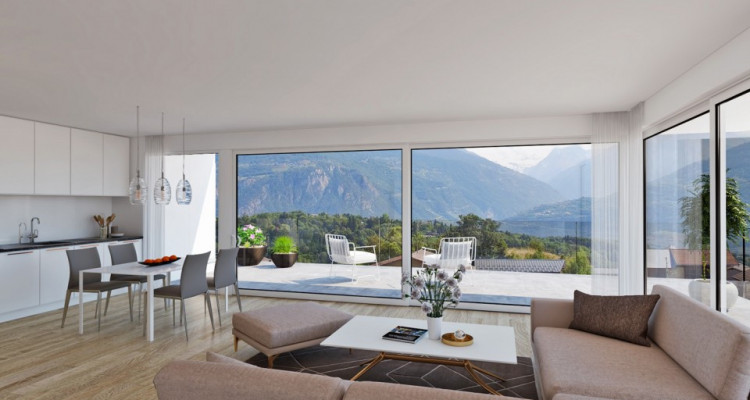 FOTI IMMO - Bel appartement MINERGIE de 3,5 pièces avec balcon. image 2