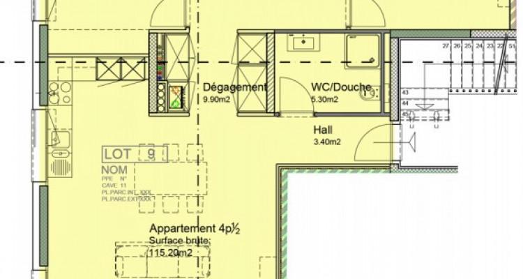 Appartement de 4,5 pièces avec balcon. image 6