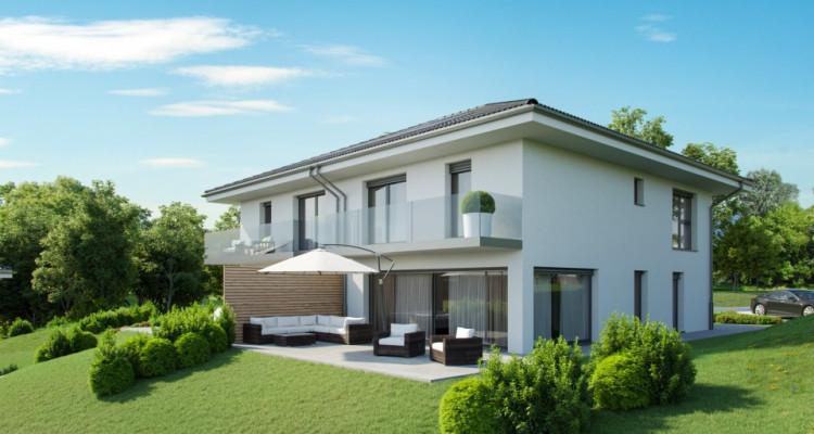FOTI IMMO - Villa mitoyenne de 5,5 pièces avec jardin. image 1