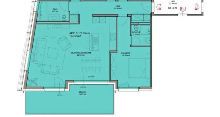 FOTI IMMO- Appartement de 5,5 pièces avec balcon. image 5
