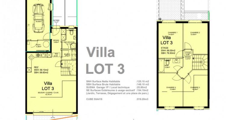 Promotion dune villa mitoyenne de 5,5 pièces idéalement située à Granges. image 3