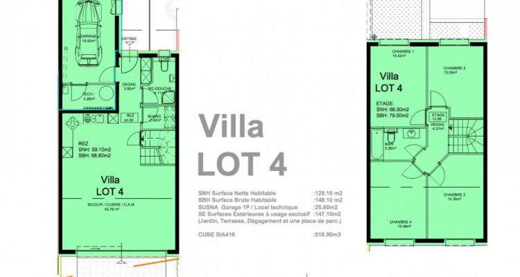 Promotion dune villa mitoyenne de 5,5 pièces idéalement située à Granges. image 4