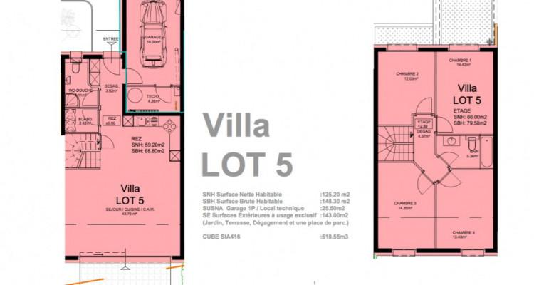 Promotion dune villa mitoyenne de 5,5 pièces idéalement située à Granges. image 5