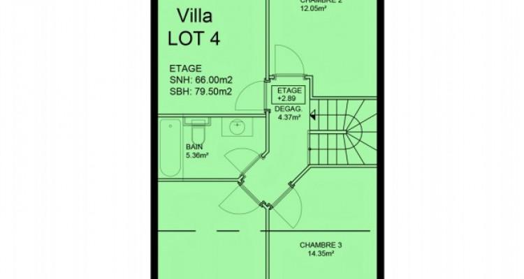FOTI IMMO - Belle villa mitoyenne de 5,5 pièces avec jardin. image 8