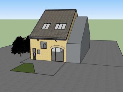 Plan-les-Ouates: duplex 98m2, rez et 1er image 1