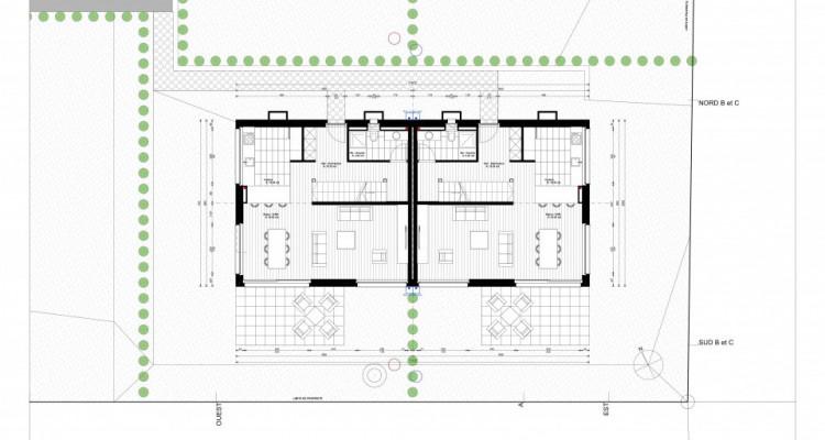 Jolie villa jumelle avec 4 chambres à coucher, finitions à choix image 4