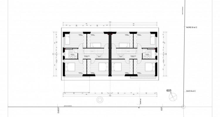 Jolie villa jumelle avec 4 chambres à coucher, finitions à choix image 5