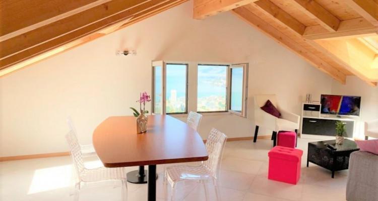 Rare, magnifique appartement à louer de 4 pièces (120 m2) à Territet avec vue imprenable sur le Lac image 2
