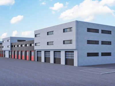 Halle industrielle sur 2 niveaux. image 1