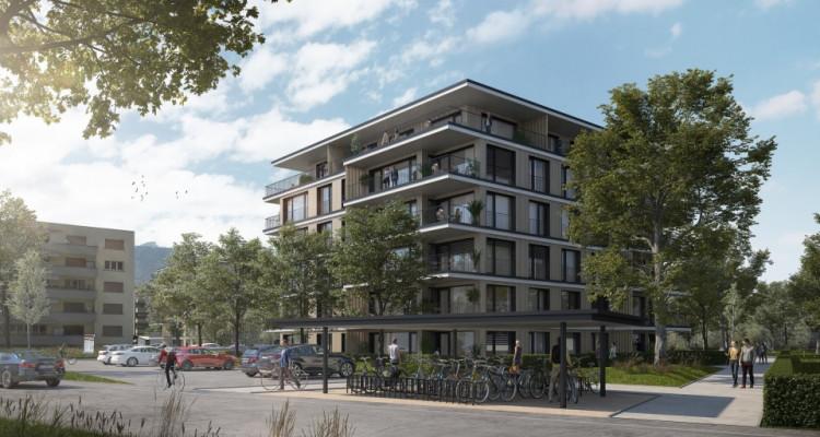 Appartement de 3,5 pièces avec balcon au 4 ème étage image 2