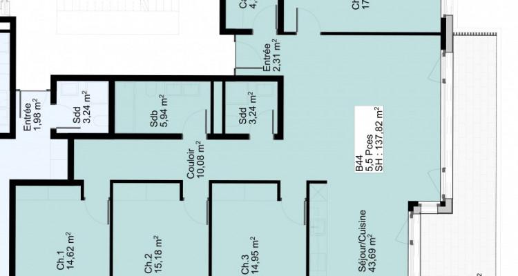 Appartement de 5,5 pièces avec balcon au 4 ème étage image 5