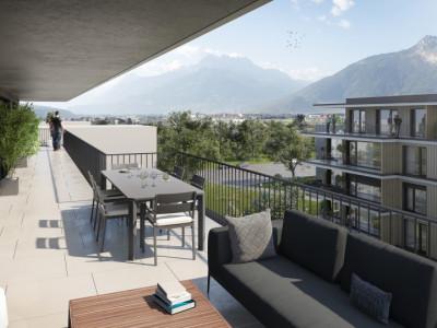 Appartement de 3,5 pièces avec terrasse EN ATTIQUE image 1