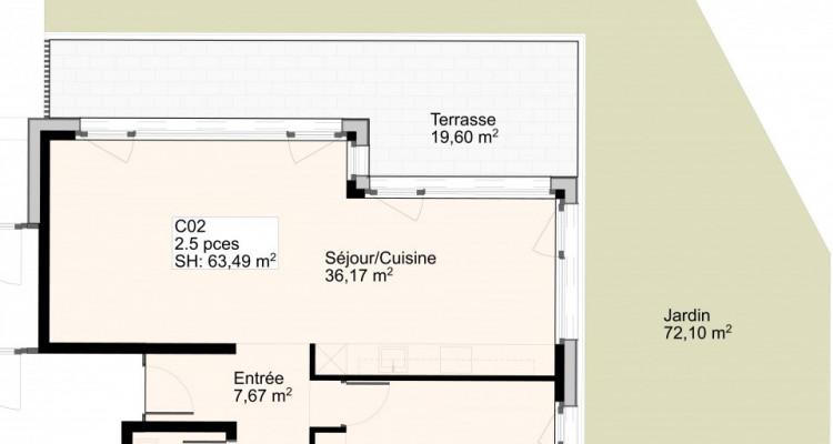 Appartement de 2,5 pièces avec jardin image 5