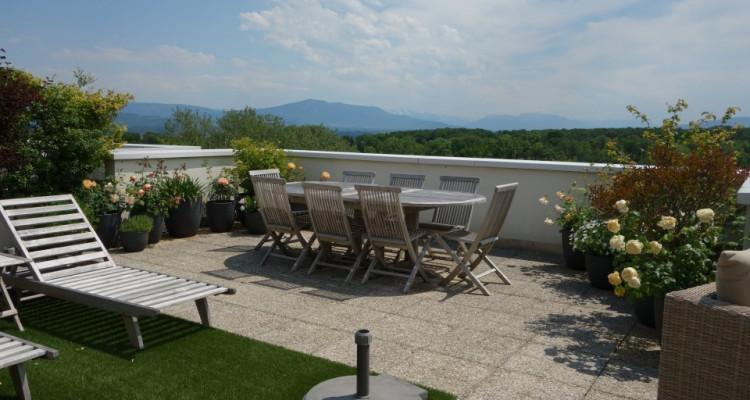 Nyon, magnifique attique avec 175 m2 de terrasse et belle vue image 6