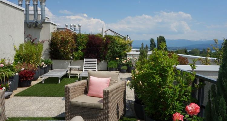 Nyon, magnifique attique avec 175 m2 de terrasse et belle vue image 8