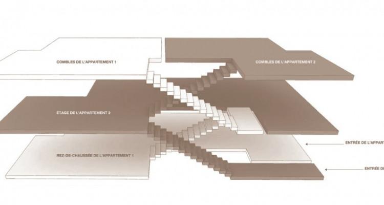 Magnifique appartement en duplex de 4,5 pièces. image 6