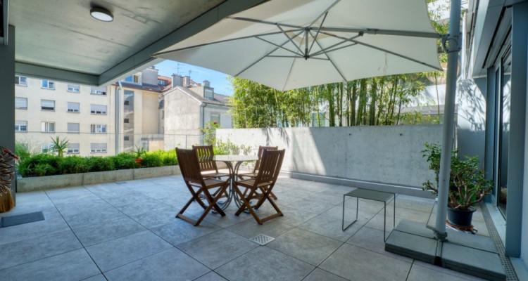 Appartement au coeur de Genève avec terrasse de 47 m2 image 3