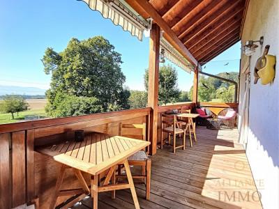 Superbe appartement, vue imprenable et grand jardin privatif à vendre! image 1