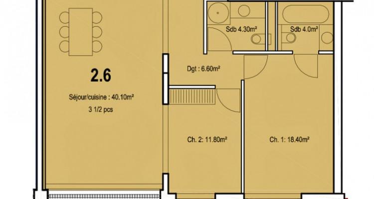 Bel appartement de 3,5 pièces au centre-ville. image 5