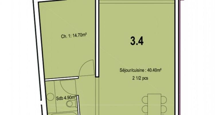 Appartement de 2,5 pièces au centre-ville. image 5