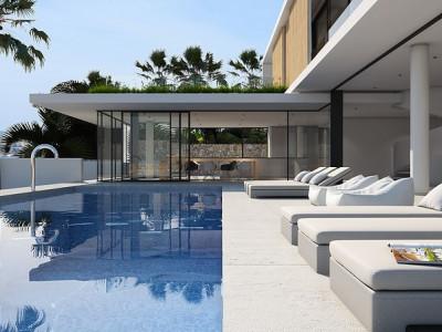 BEAUTIFUL LAND FOR BULDING 6 LUXURY PROPERTIES – CAP MARTINET – IBIZA – SPAIN image 1