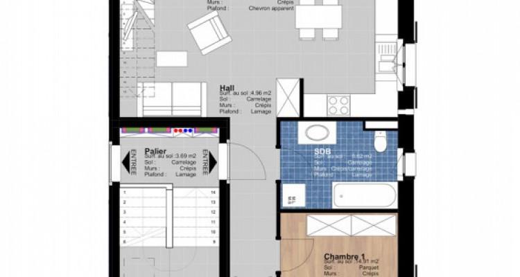 FOTI IMMO - Appartement en duplex de 4.5 pièces avec mezzanine. image 3