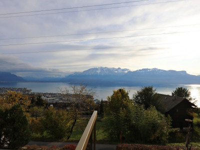 Magnifique appart 3,5 p / 2 chambres / 2 SDB / terrasse vue lac image 1