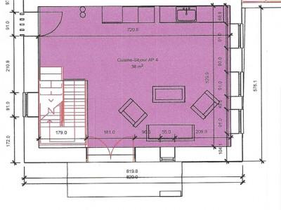 Quadruplex neuf de 5,5 pièces - disponible dès le 1 er juillet 2020 ! image 1