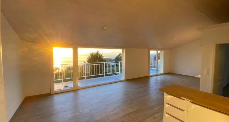 Appartement NEUF de 3.5 pièces avec grande mezzanine + vue panoramique image 4