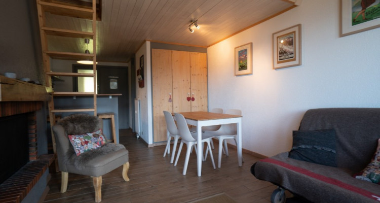 Home Story vous propose un magnifique 2 pièces en duplex à 150m de la liste de ski image 1